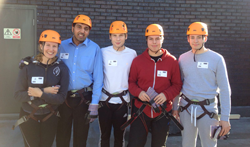 Supporting Sense - The Big Abseil