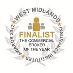 'Commercial Broker of The Year' - West Midlands Insurance Institute Awards
