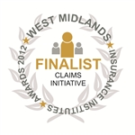 'Claims Initiative of the Year' - West Midlands Insurance Institute Awards